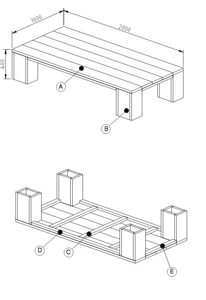 steigerhout meubelen tekeningen