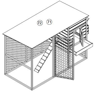 bouwtekening konijnenhok
