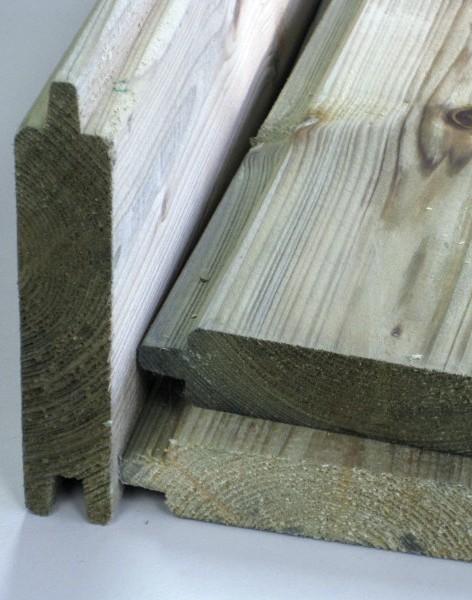 Tuinhuis zelf maken van hout