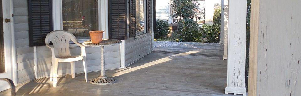 bouwtekening veranda