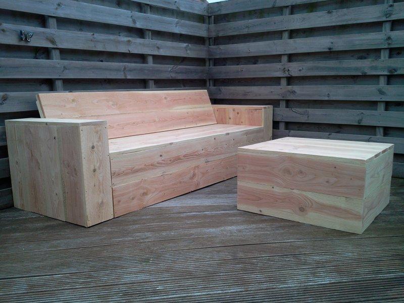 Tips bij de bouwtekening steigerhouten bank