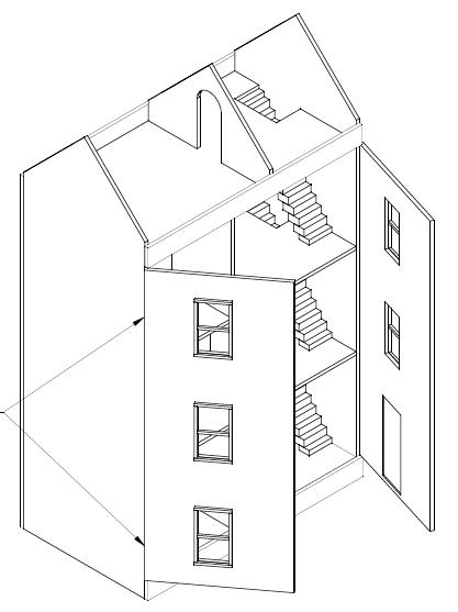 Betere Poppenhuis maken? Ik gebruikte deze bouwtekening en 9 tips, klik hier! UL-34