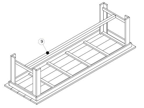 bouwtekening tuintafel