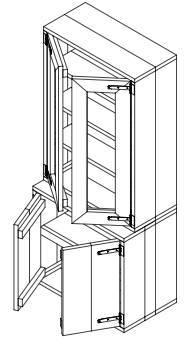 kastdeur maken