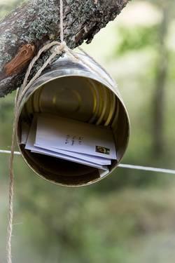 brievenbus blik