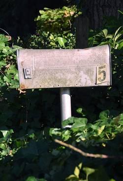 oude brievenbus