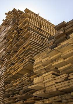 stapel hout