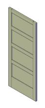bouwtekening paneeldeur
