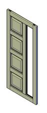 bouwtekening voordeur