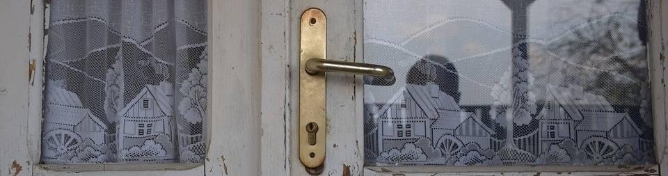 oude deur tochtvrij
