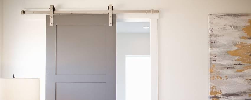 schuifdeur maken gewone deur