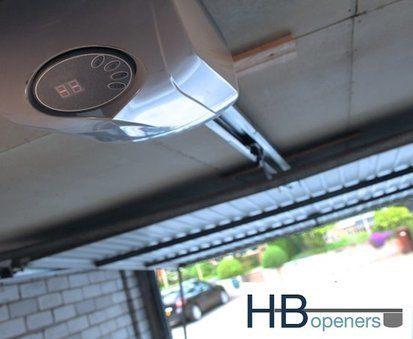 garagedeur motor met afstandsbediening HBJR 1000N
