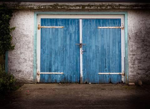 houten garagedeur maken