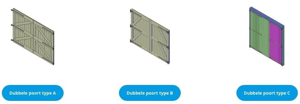 houten garagedeuren zelf maken